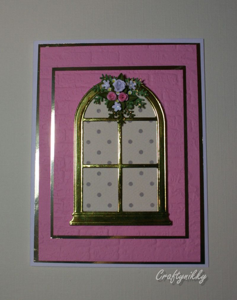 Craftynikky sample window card 2