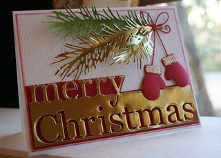 Craftynikky Merry Christmas mittens 6