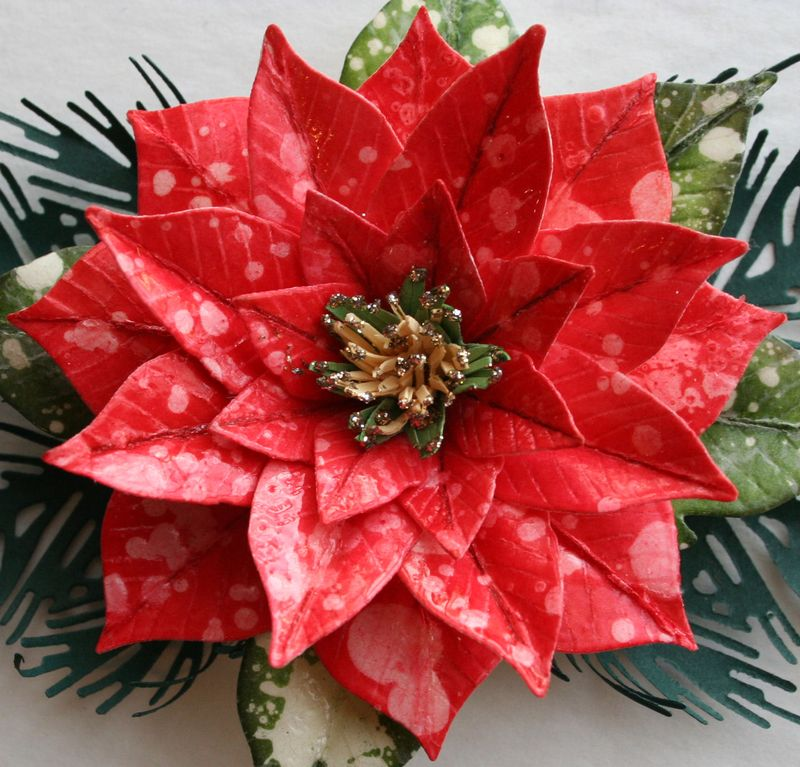 Craftynikky poinsettia 10