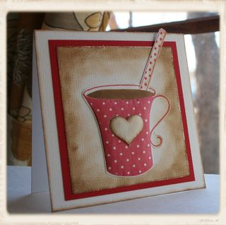 Craftynikky love coffee mug with straw 1