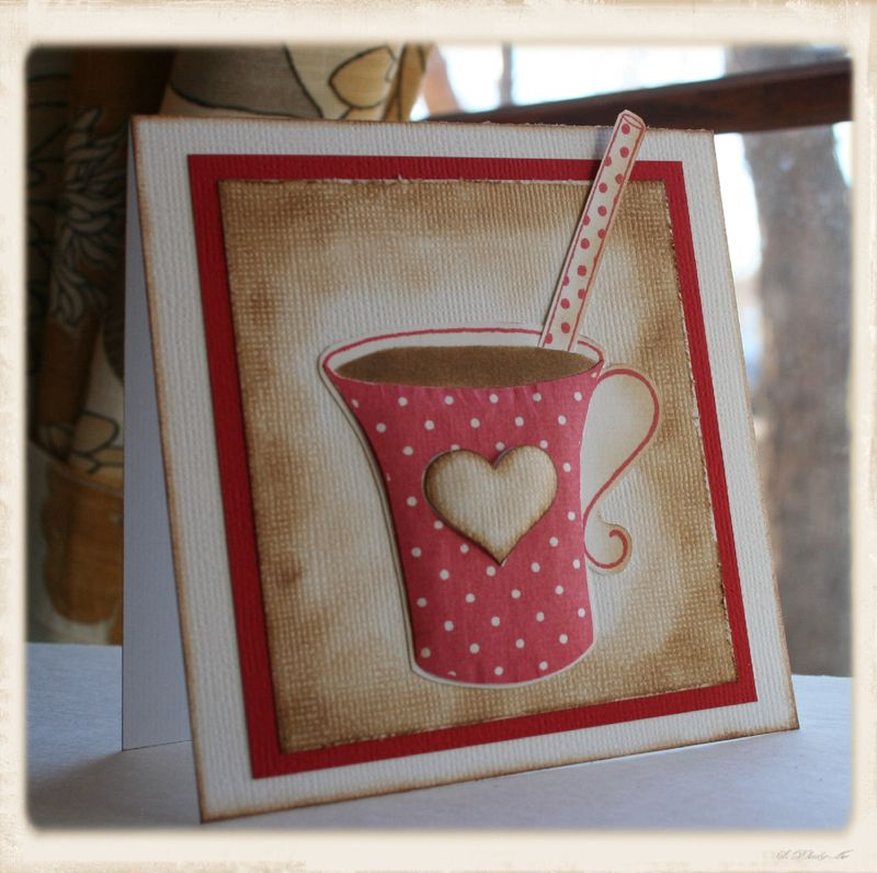Craftynikky love coffee mug with straw 4 framed