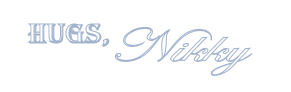 Signature for Blog