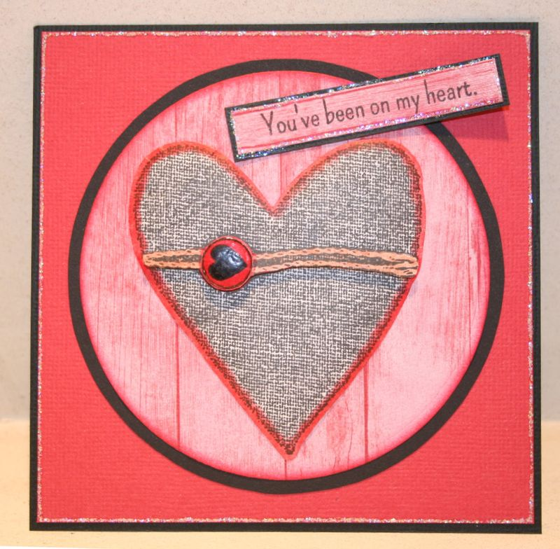 Craftynikky You've been on my heart sample card 1