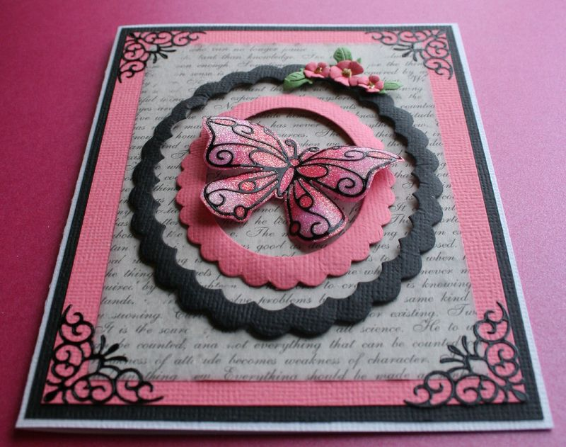 Craftynikky mini class butterfly 1