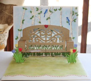 Craftynikky popup park bench 13