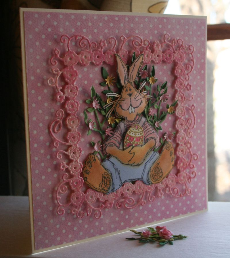 Craftynikky Easter Bunny card 2