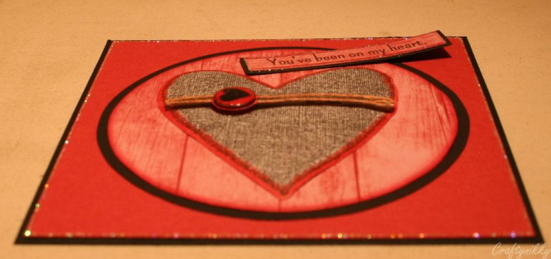 Craftynikky You've been on my heart sample card 6