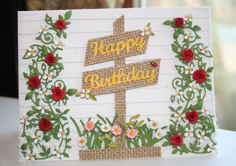 Craftynikky Springtime Birthday card 7