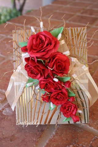 Craftynikky rose gift box 2