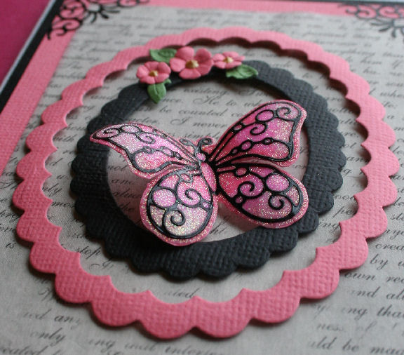 Craftynikky mini class butterfly 3