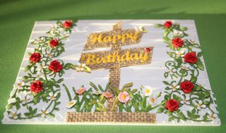 Craftynikky Springtime Birthday card 1