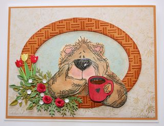 Craftynikky bear card 1