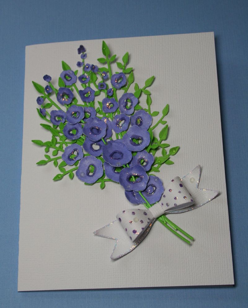 Craftynikky hollyhock bunch card 2