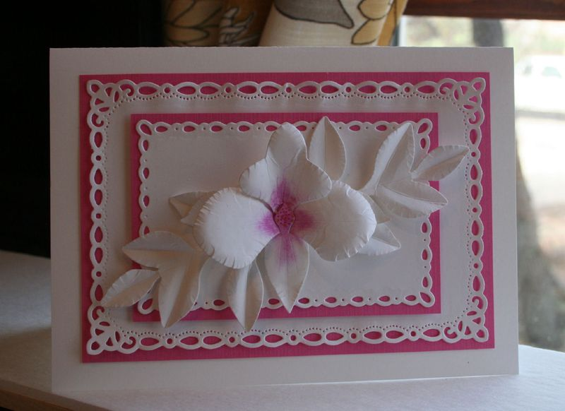 Craftynikky Orchid card 7