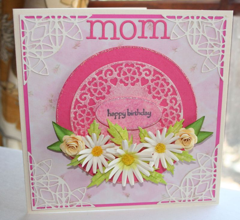 Craftynikky card to mom 2014-2