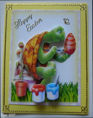 Rose_3d_easter_turtle_painting