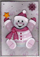 Di_pink_snowman_with_a_star