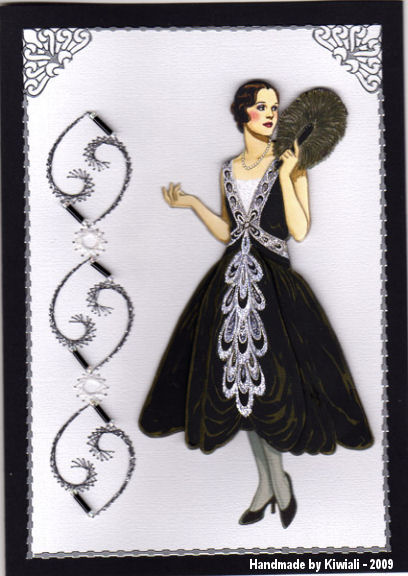 Kiwiali 1926 Lanvin Picture Dress